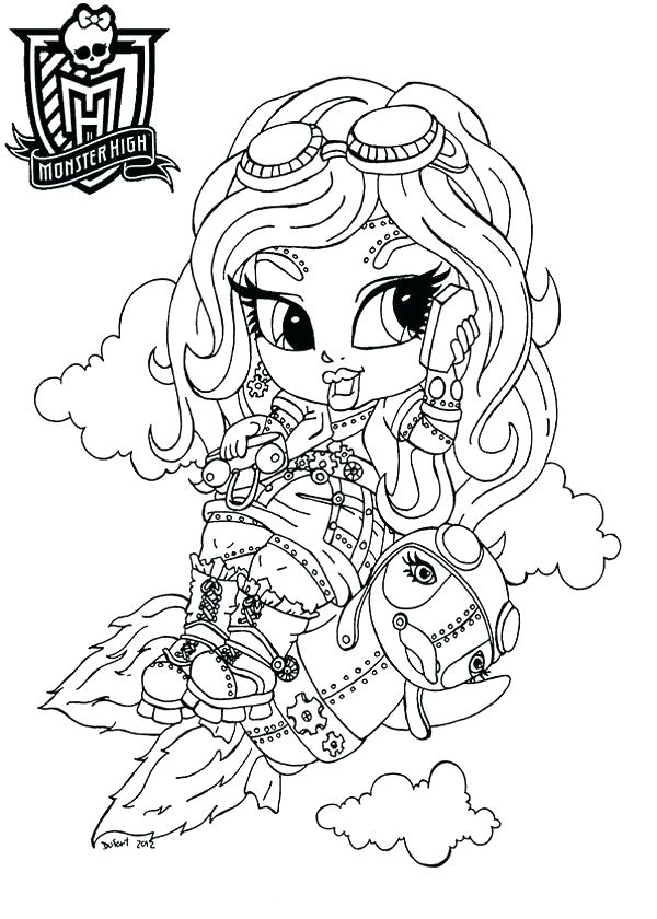 600x840 Monster Monster High Coloring Pages Monster Monster Monster High