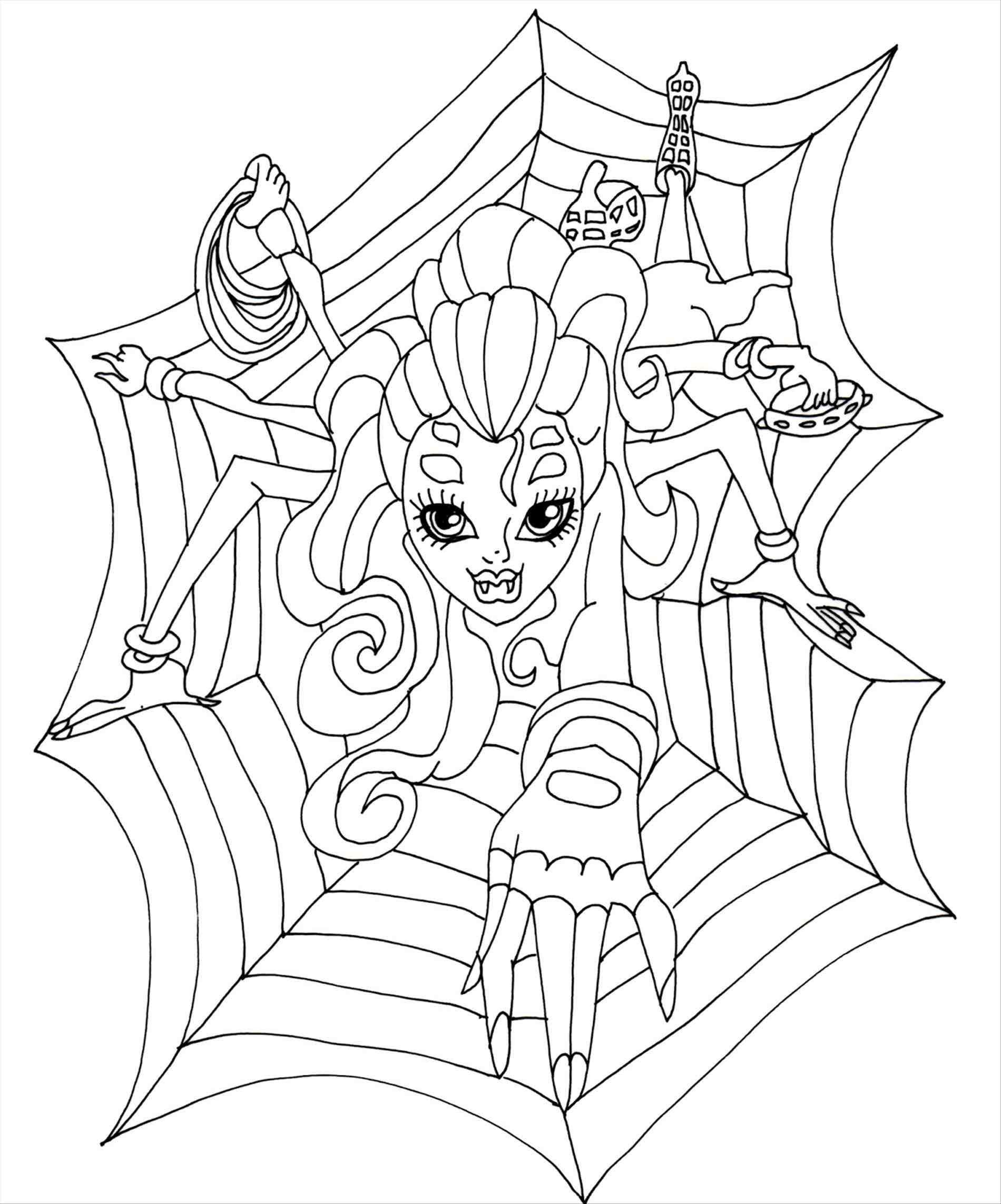 1900x2285 Unbelievable Coloring Pages For Kids Monster High Wydowna Catty