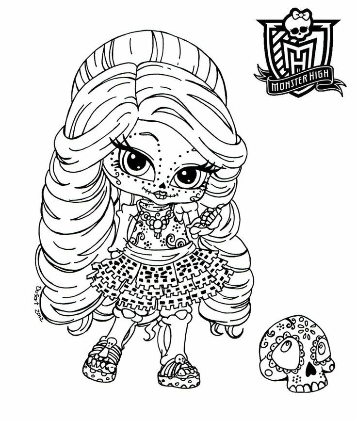 736x868 Monster High Coloring Pages Pdf