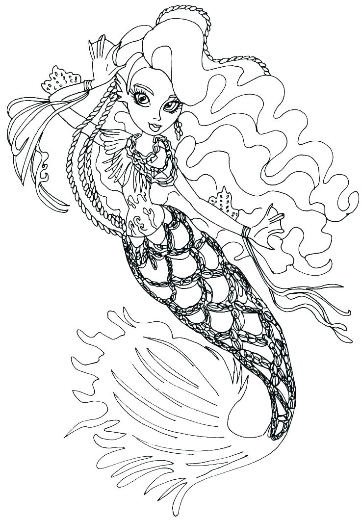 Monster High Logo Coloring Pages