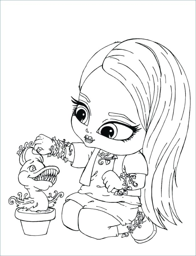 688x900 Monster High Characters And Pets Coloring Pages Wolf Page Baby