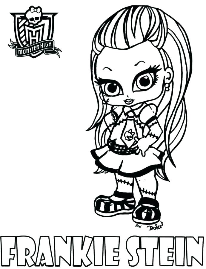 690x900 Monster High Doll Coloring Pages Monster High Pets Coloring Pages
