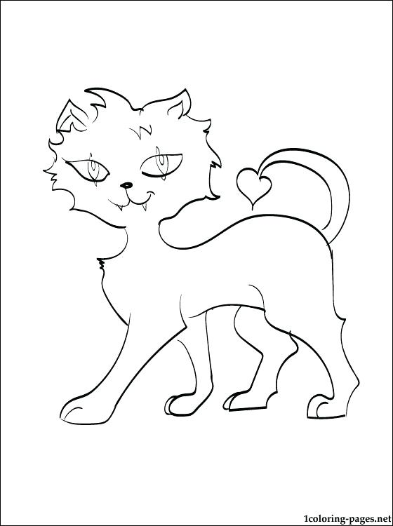 560x750 Monster High Pets Coloring Pages Coloriage Clawdeen Wolf