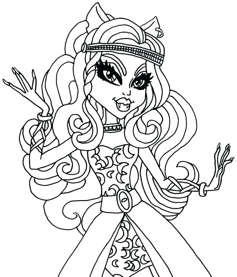 792x926 Pets Coloring Page Monster High Pets Coloring Pages Coloring Page