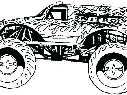 440x330 Monster Truck Color Pages Monster Truck Color Pages Monster Truck