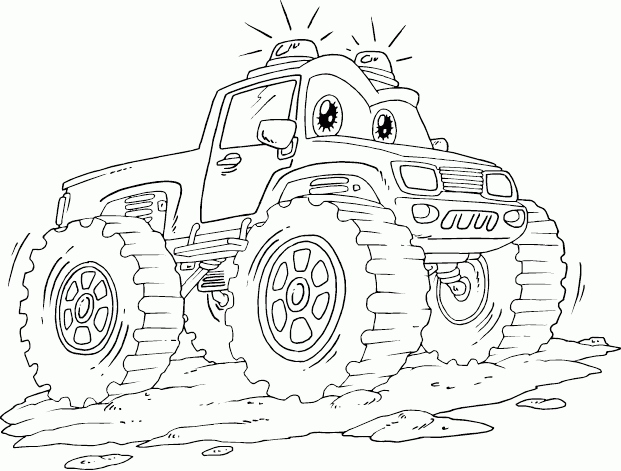 621x471 Awesome Coloring Pages Monster Trucks Logo And Design Ideas