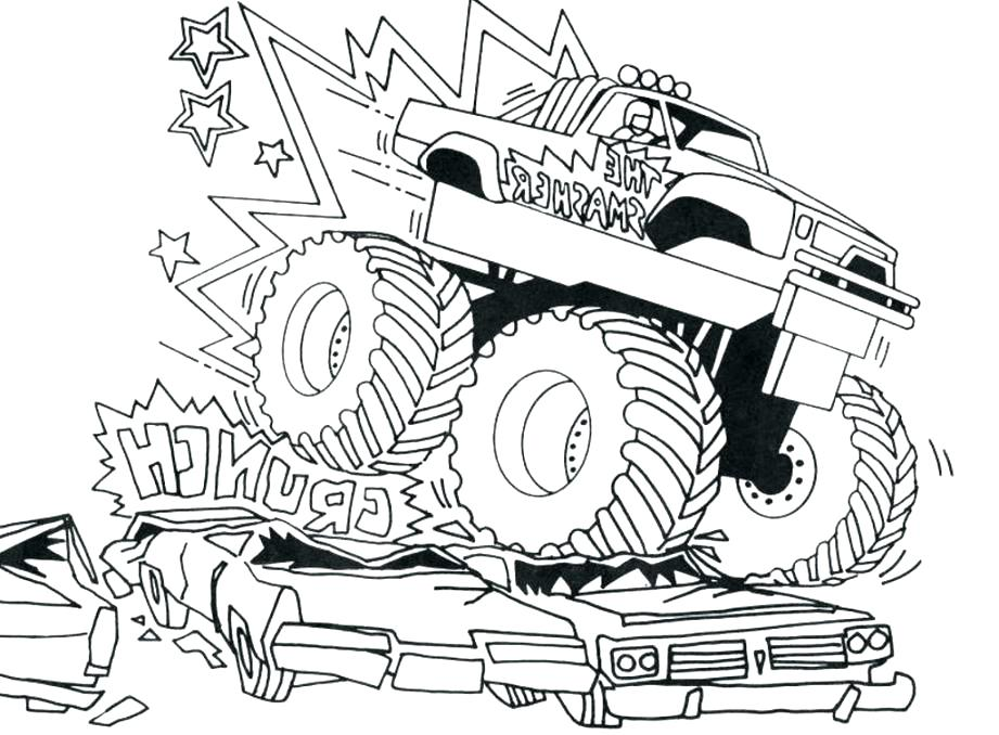 921x678 Bigfoot Coloring Pages Coloring Pages Wonderful Ideas Monster Jam