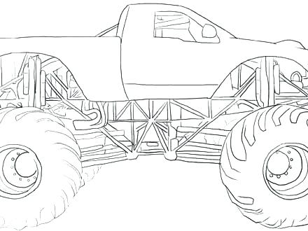 Monster Jam Grave Digger Coloring Pages at GetDrawings ...