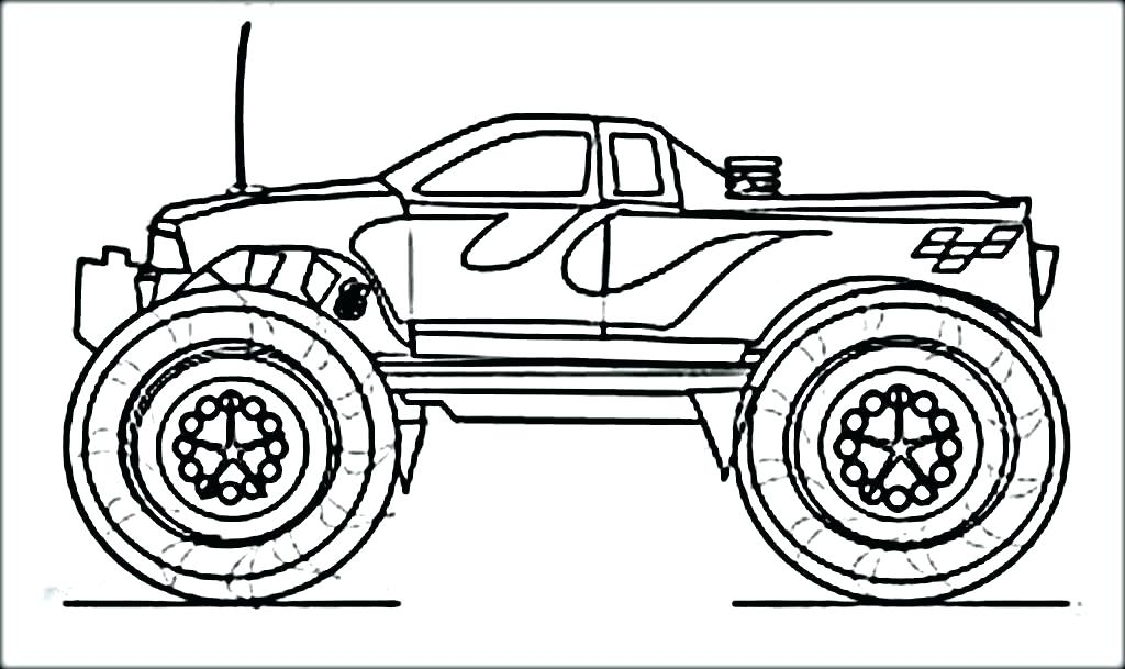 1024x609 Monster Truck Printable Monster Trucks Coloring Pages Hot Wheels