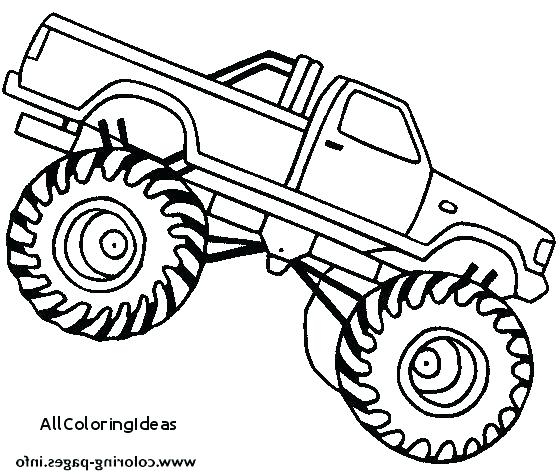560x475 Ninja Turtle Monster Truck Coloring Pages