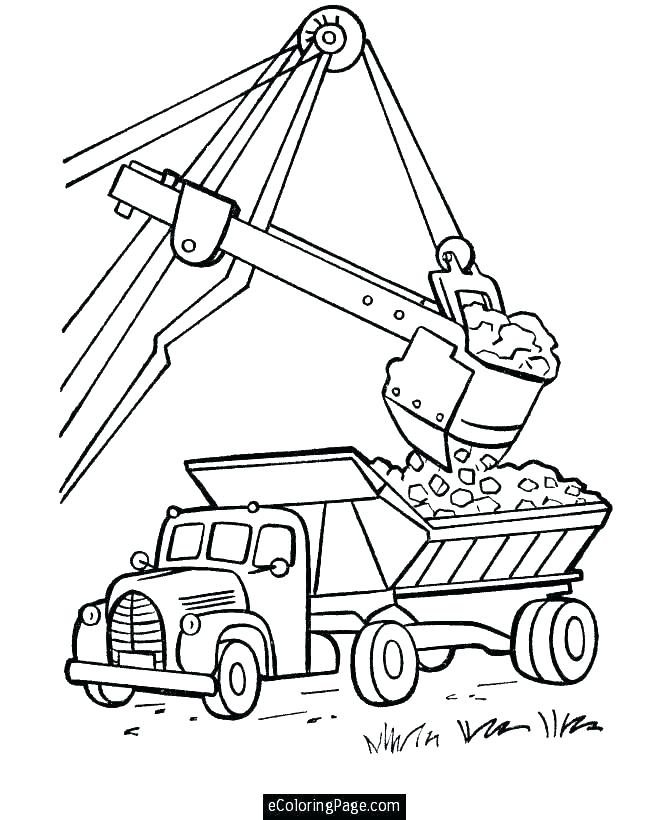 670x820 Old Truck Coloring Pages Garbage Appealing Trash Page Kids Free