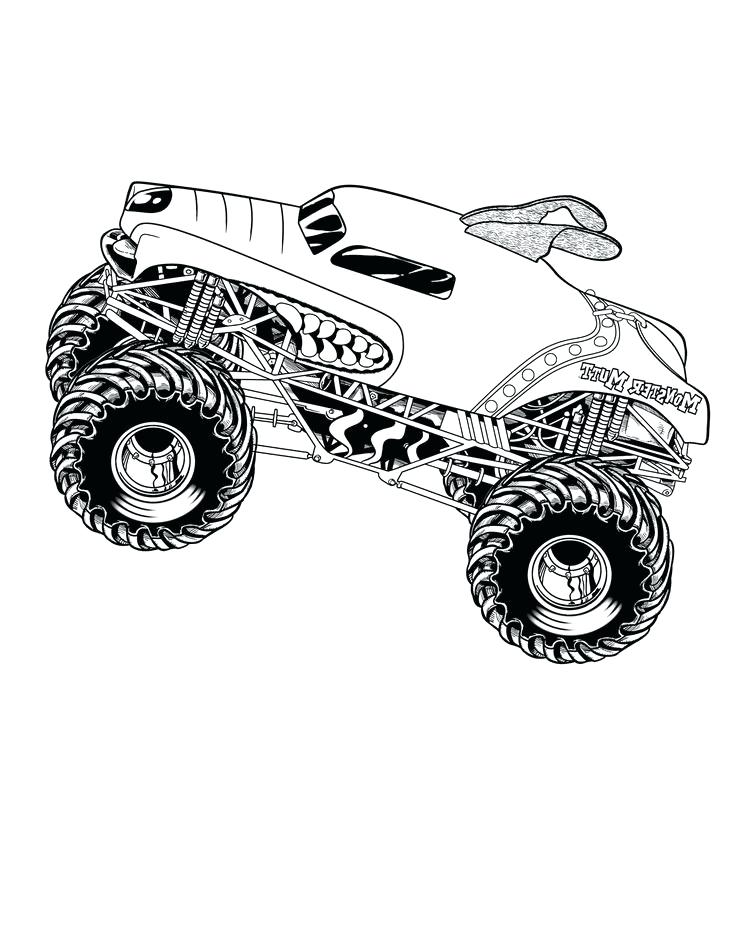736x952 Monster Mutt Monster Truck Coloring Pages And Monster Mutt