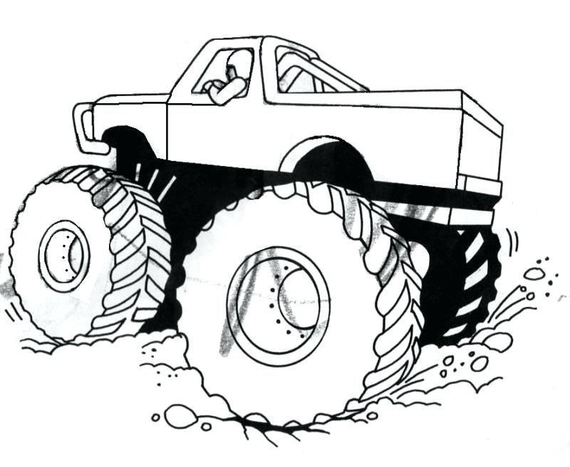 800x656 Monster Truck Coloring Pages Monster Jam Monster Truck Coloring