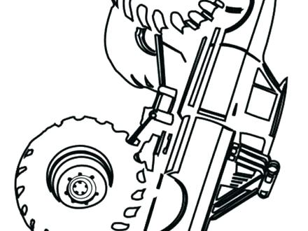 440x330 Coloring Pages Disney Pdf Monster Truck Page Free Colouring