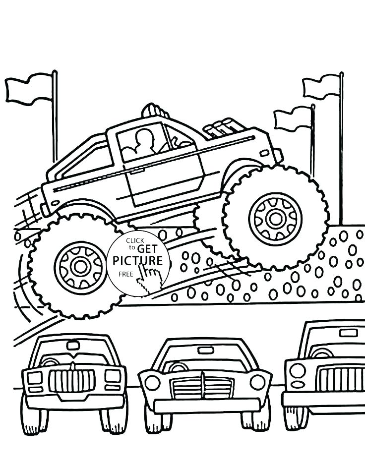 736x944 Transportation Coloring Pages Cool Monster Truck Coloring Pages