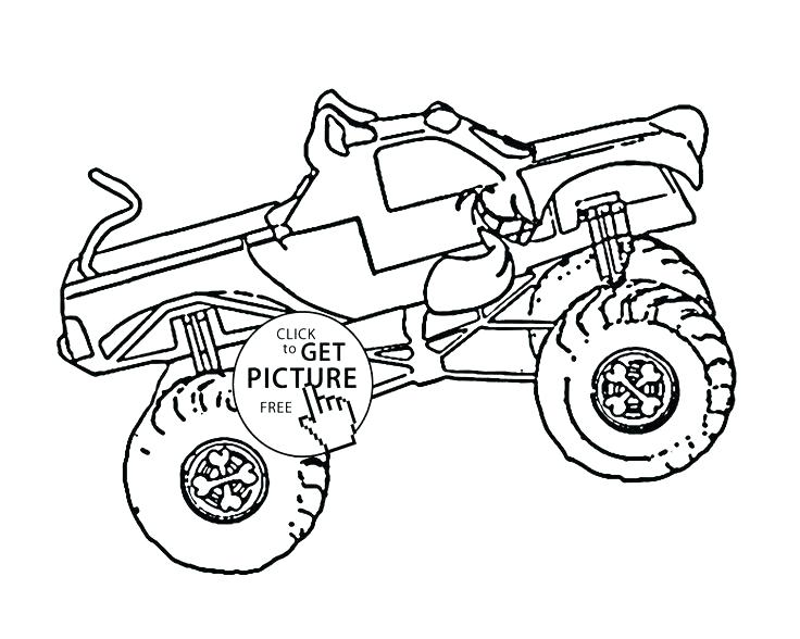 736x588 Truck Coloring Page Batman Monster Truck Coloring Pages Monster