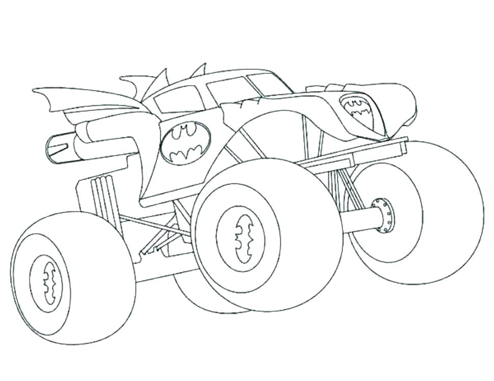 970x748 Free Monster Truck Coloring Pages To Print Monster Truck Coloring