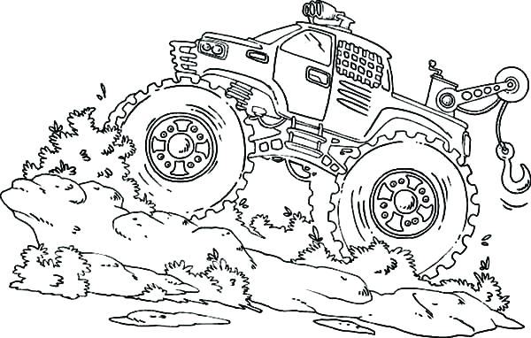 600x382 Free Printable Monster Truck Coloring Pages Cute Coloring Monster
