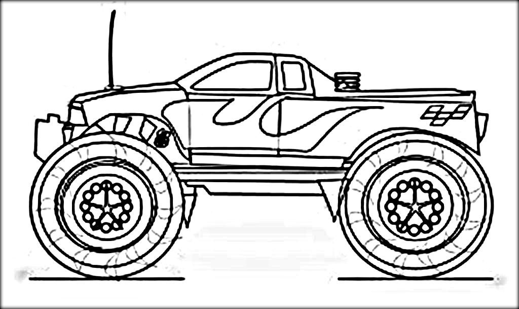 1024x609 Beautiful Printable Monster Truck Coloring Pages Diy Coloring Page