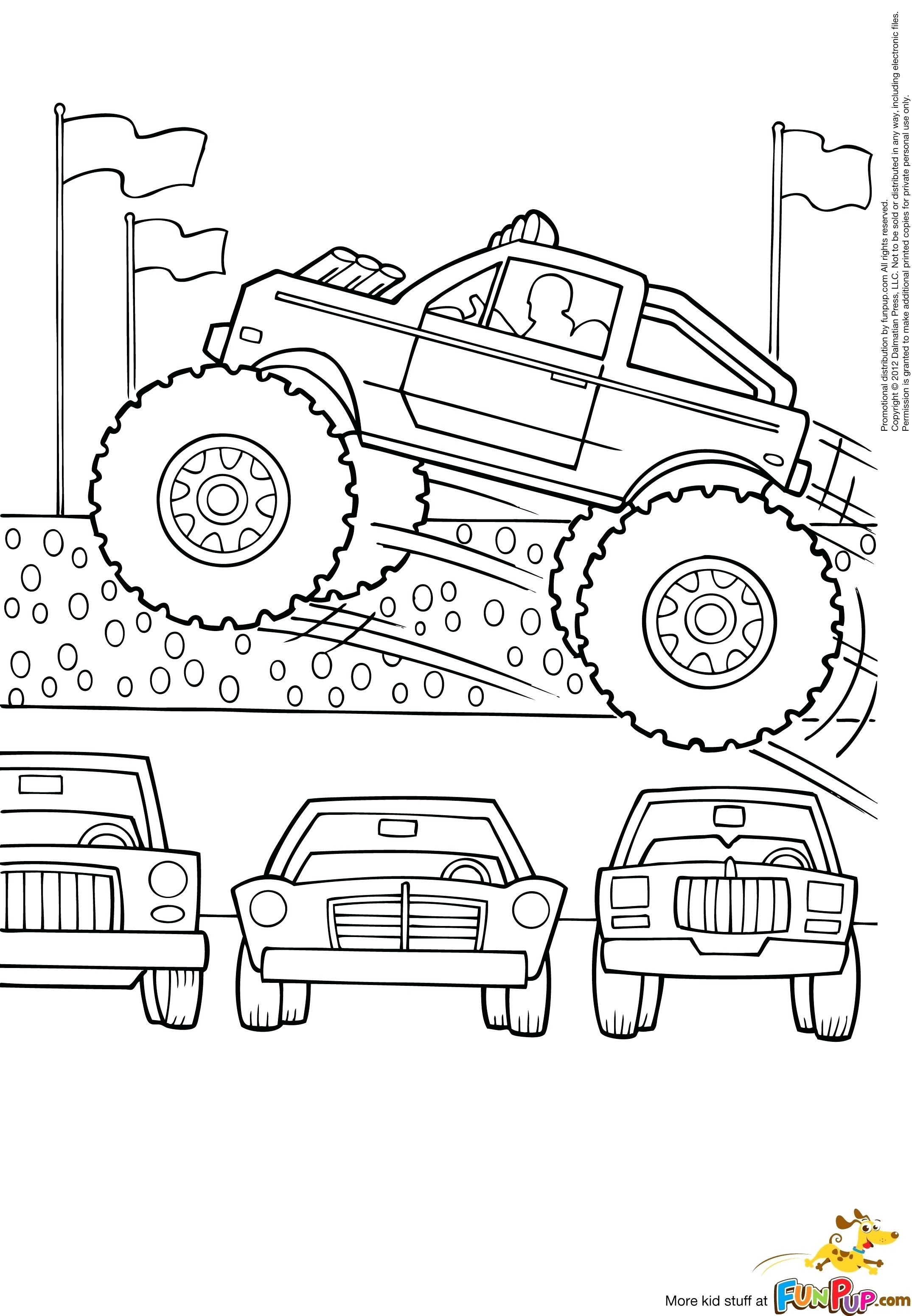 2149x3101 Drawing Monster Truck Coloring Pages With Kids To Print