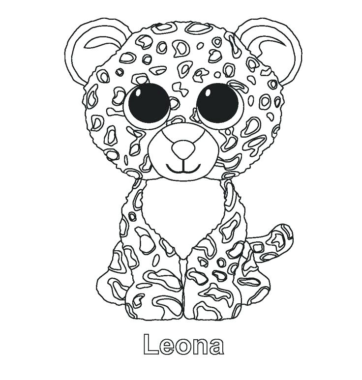 736x773 Beanie Boo Coloring Pages Educational Coloring Pages