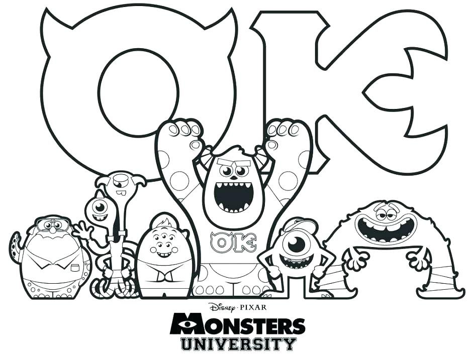 945x709 Free Coloring Pages Monsters Inc Boo Coloring Pages Stock Boo