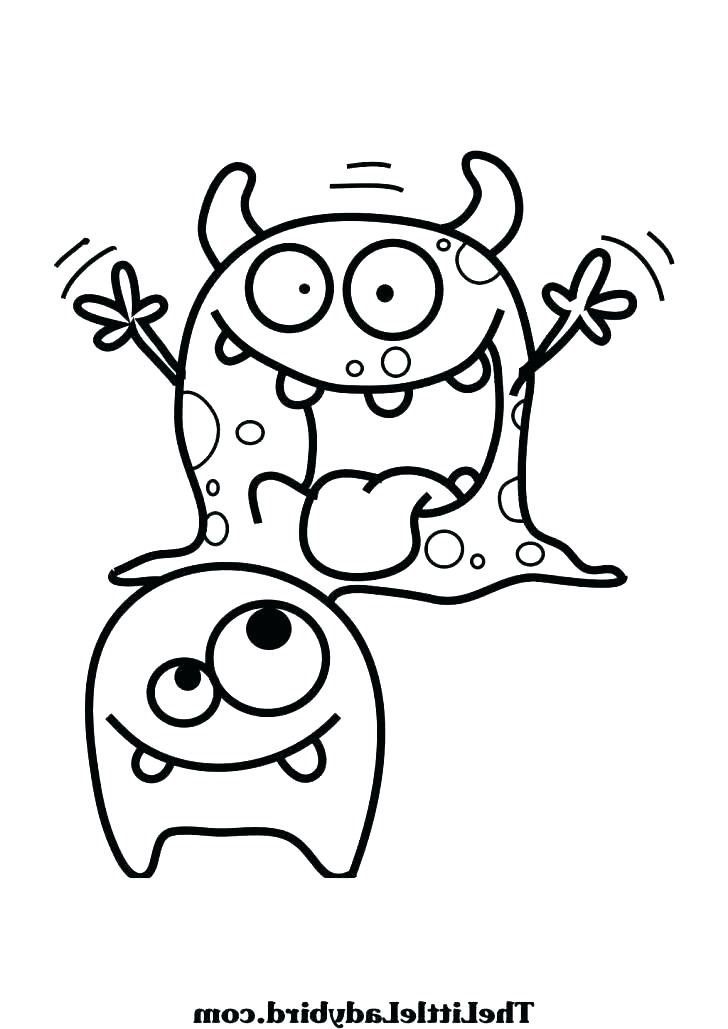 728x1029 Monster Inc Coloring Pages Monsters Inc Boo Coloring Pages Monster