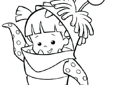 440x330 Sully Monsters Inc Coloring Page Monster Inc Coloring Pages Mike