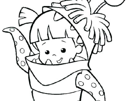 440x330 Monster Inc Coloring Pages