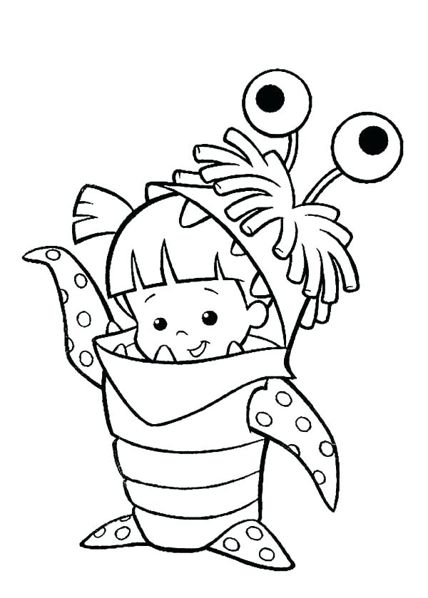 600x839 Monsters Inc Coloring Pages Monsters Inc Coloring Pages Monsters
