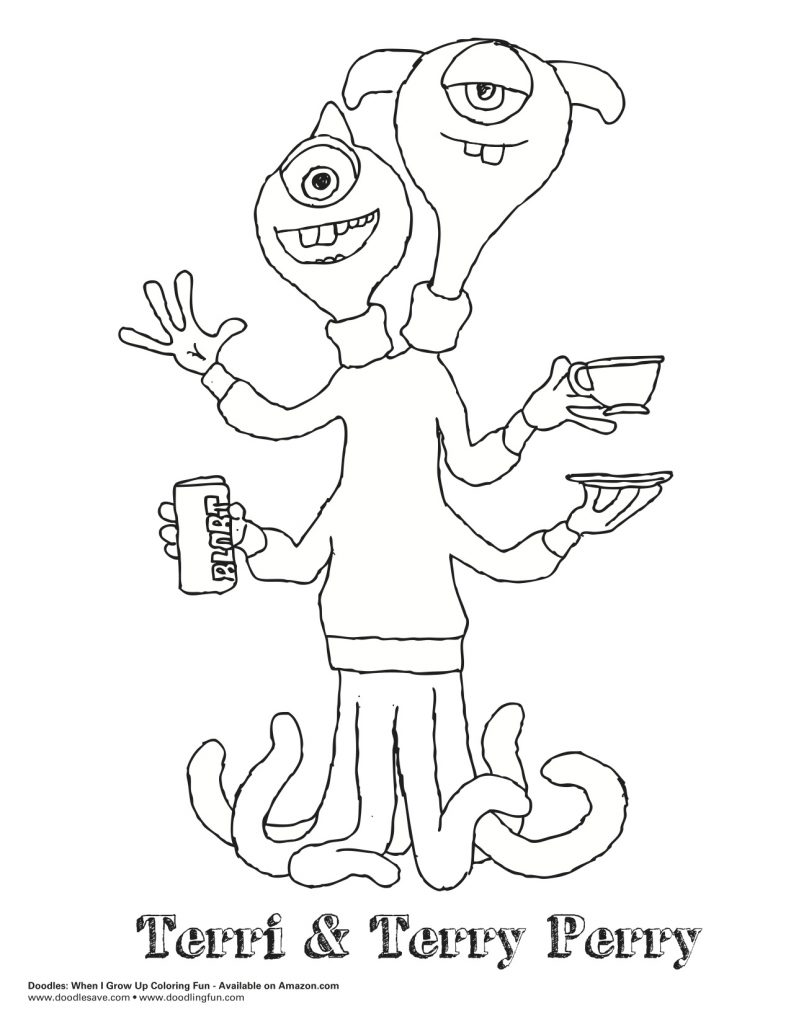 791x1024 Monsters University Sulley Coloring Pages Monster General