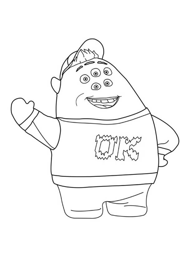 600x834 Top Monsters Inc New Coloring Pages