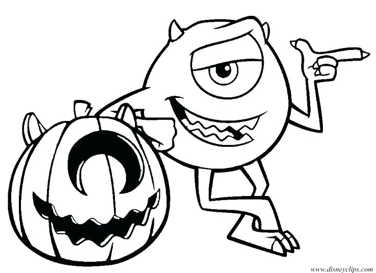 736x535 Coloring Pages Monsters Inc Monster Inc Coloring Pages Monsters Vs