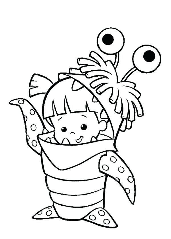 600x839 Mike Wazowski Coloring Pages Mike Coloring Pages Monsters