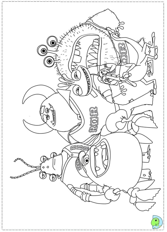 691x960 Best Of Monsters University Coloring Pages Logo And Design Ideas