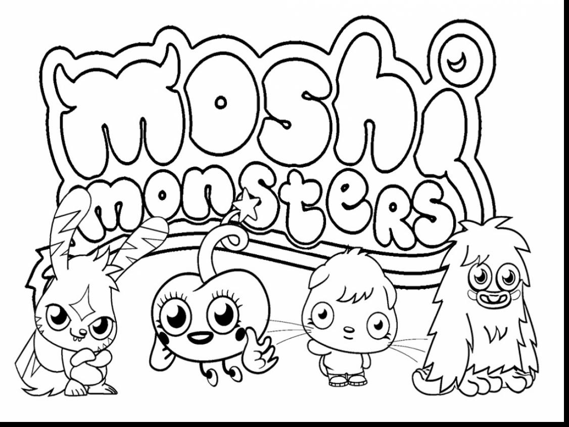 1126x844 Monsters University Coloring Pages Diaet Me New Monster General