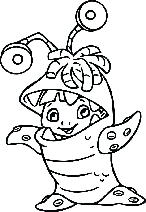 618x898 Mike Wazowski Coloring Pages Mike Coloring Pages Monsters