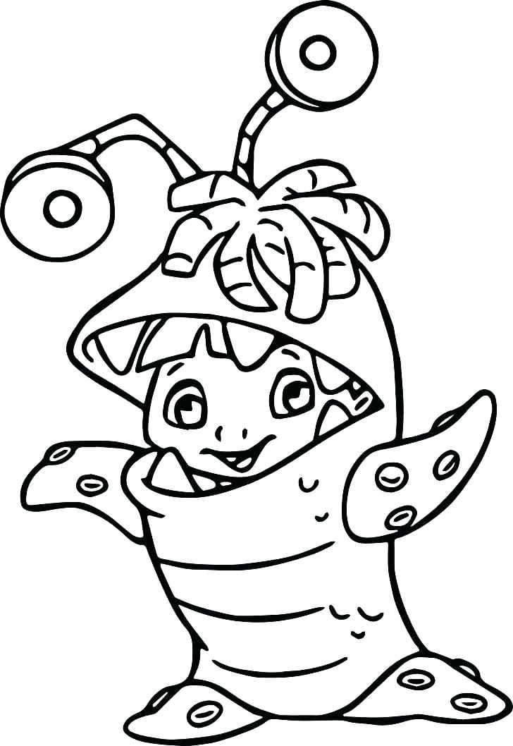 728x1058 Monsters Vs Aliens Coloring Pages Alien Coloring Pages Coloring