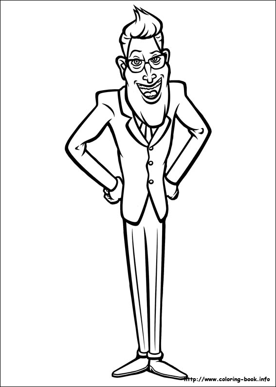 567x794 Monsters Vs Aliens Coloring Pages On Coloring