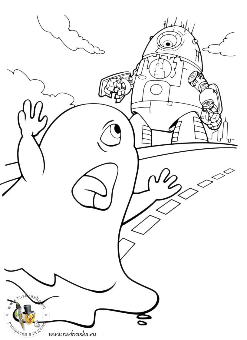 816x1123 Monsters Vs Aliens Coloring Pages For Kids Colorbook Pages
