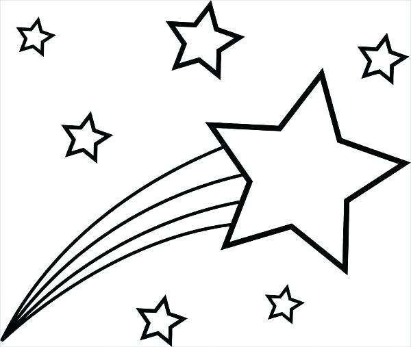 600x507 Stars Coloring Page Tree With Star Coloring Page Stars Wars
