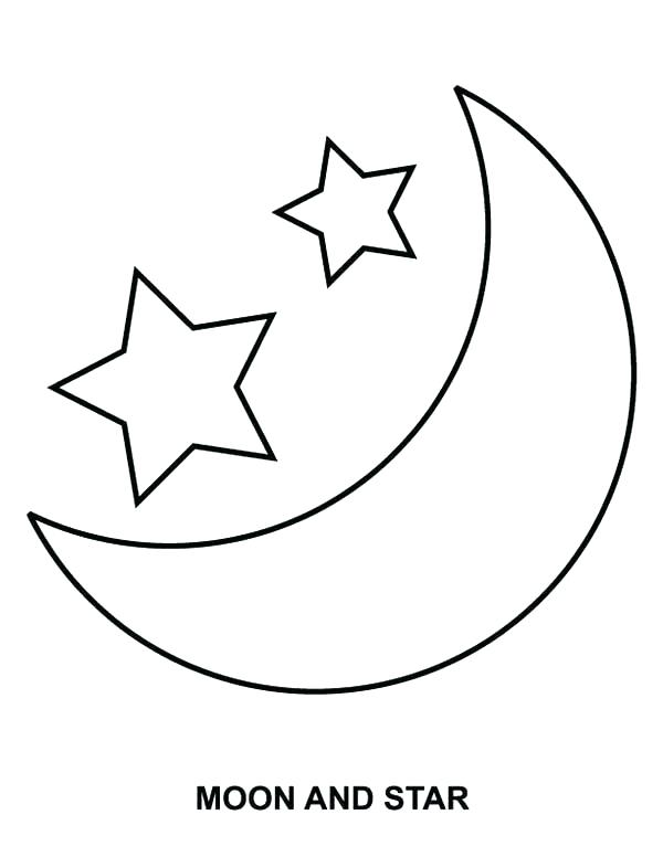 600x776 Moon And Stars Coloring Pages Luxury Moon And Stars Coloring Pages