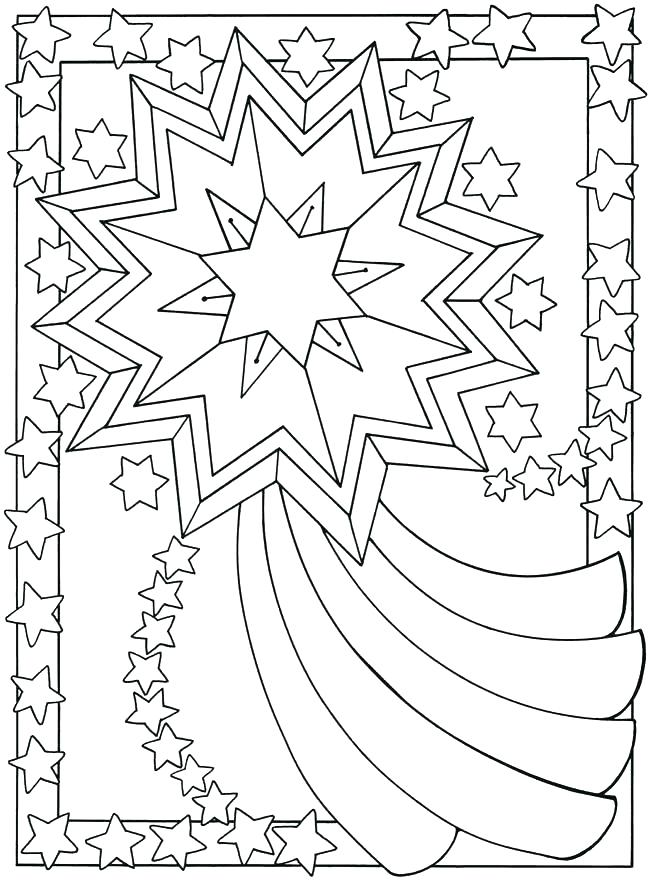 650x880 Moon And Stars Coloring Pages Sun Moon And Stars Colouring Pages