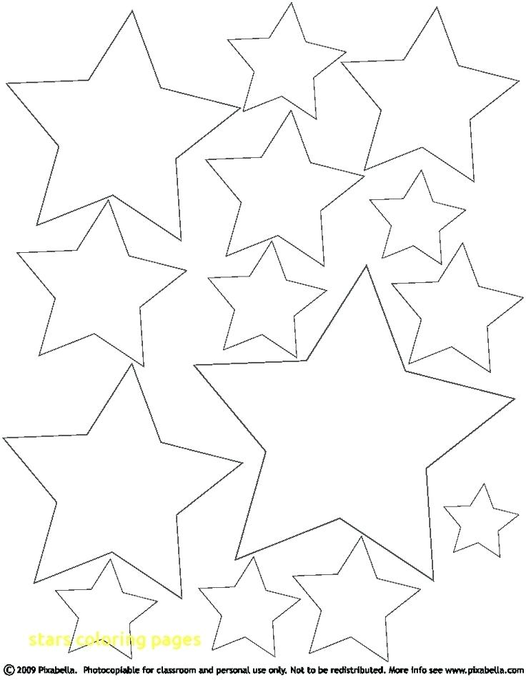 736x952 Stars Coloring Pages