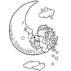 Moon Coloring Pages at GetDrawings.com   Free for personal ...
