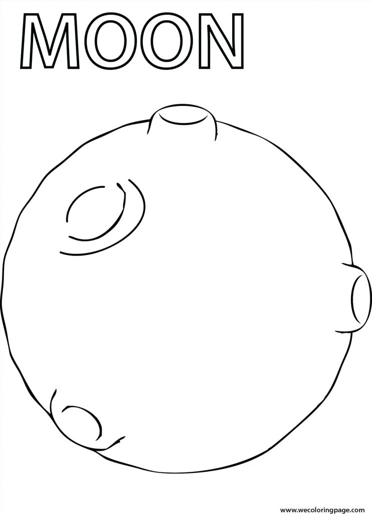 742x1024 Moon Coloring Pages Moon Coloring Sheet High Definition Coloring