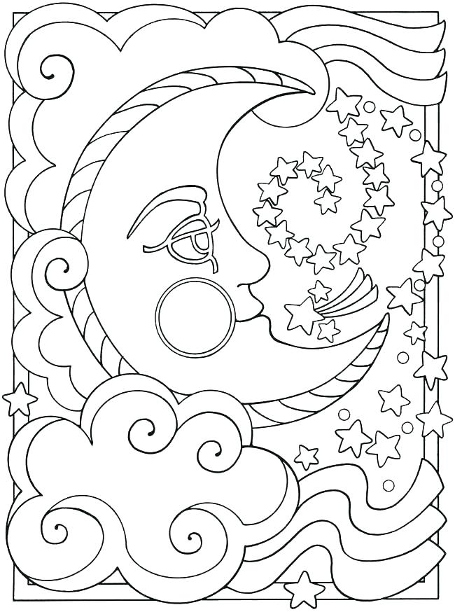 650x874 Coloring Pages For Sunday School Coloring Pages Of The Sun Moon