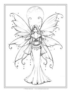 236x305 Free Amy Brown Fairy Coloring Pages Fairie Coloring Pages