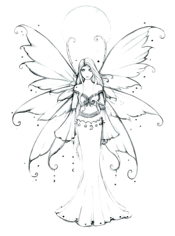 700x945 Garden Fairies Coloring Pages Detailed Fairy Coloring Pages Fairy