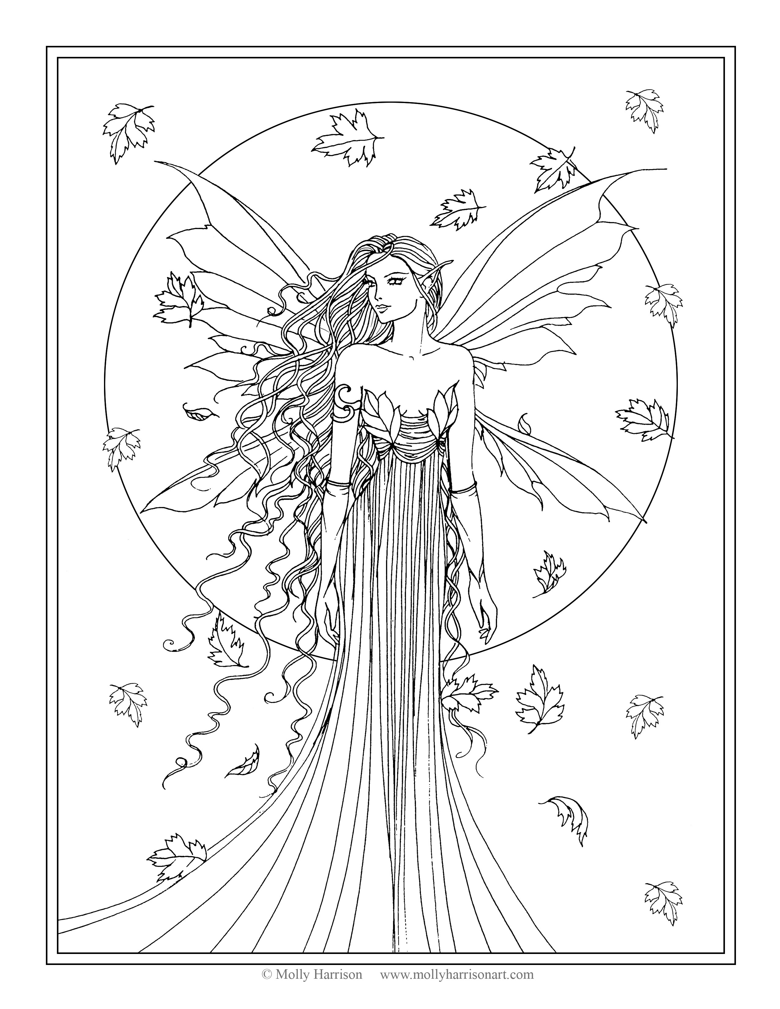 2550x3300 The Fairy Art Fantasy Art Of Molly Harrison Official Shop